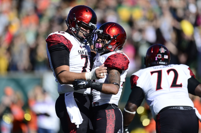 San Diego State Aztecs vs. Wyoming Cowboys - 11/14/15 College Football Pick, Odds, and Prediction