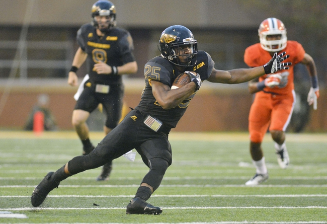 Southern Miss Golden Eagles vs. UTEP Miners - 9/24/16 College Football Pick, Odds, and Prediction