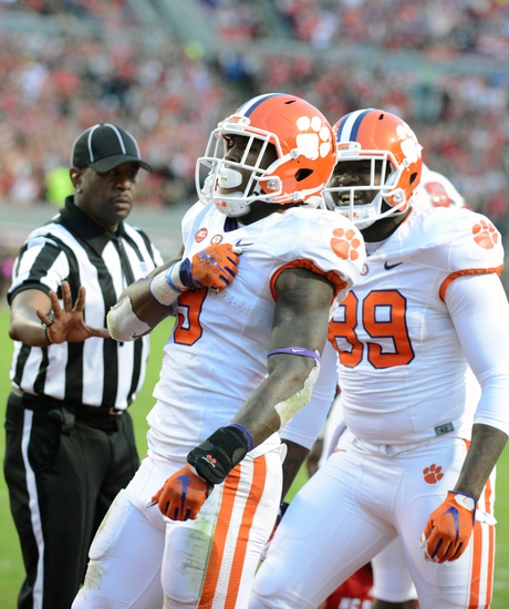 Clemson Tigers vs. Florida State Seminoles - 11/7/15 College Football Pick, Odds, and Prediction
