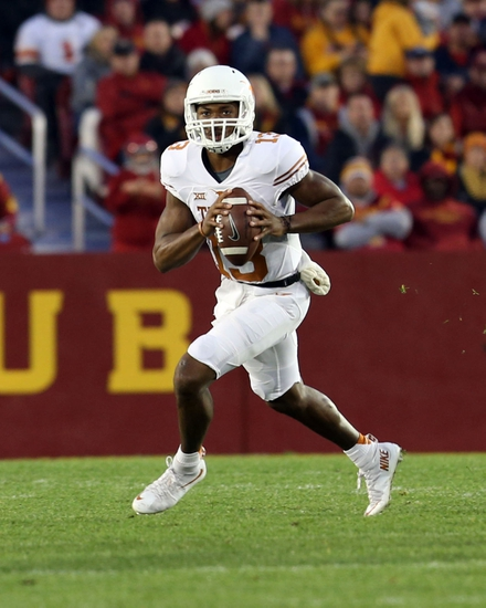 Texas vs. Kansas - 11/7/15 College Football Pick, Odds, and Prediction