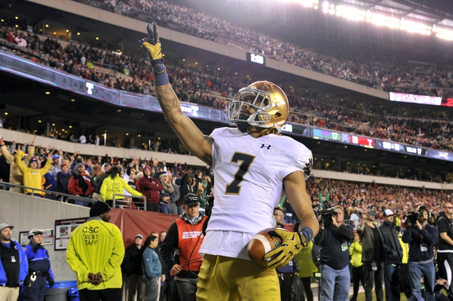 Pittsburgh Panthers vs. Notre Dame Fighting Irish - 11/7/15 College Football Pick, Odds, and Prediction