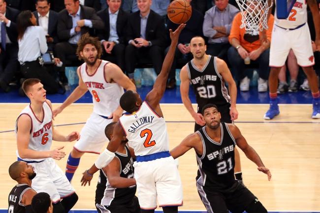 Spurs vs. Knicks - 1/8/16 NBA Pick, Odds, and Prediction