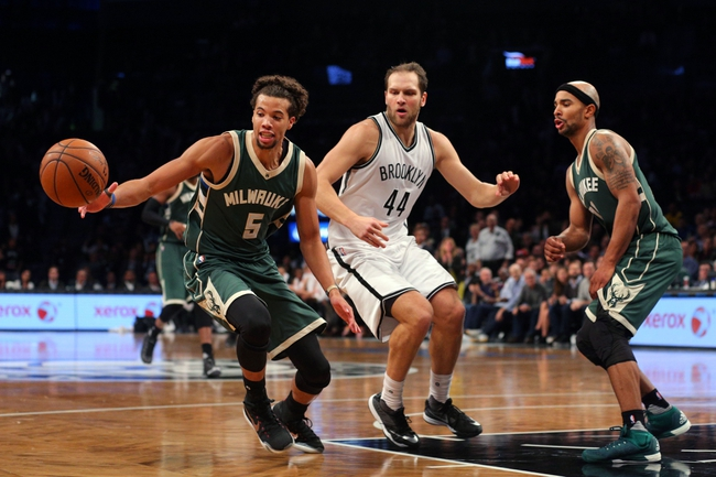 Nets at Bucks - 11/7/15 NBA Pick, Odds, and Prediction
