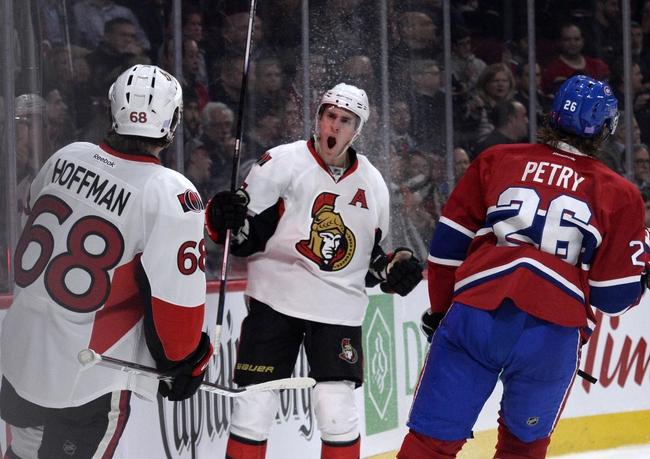 Montreal Canadiens vs. Ottawa Senators - 12/12/15 NHL Pick, Odds, and Prediction