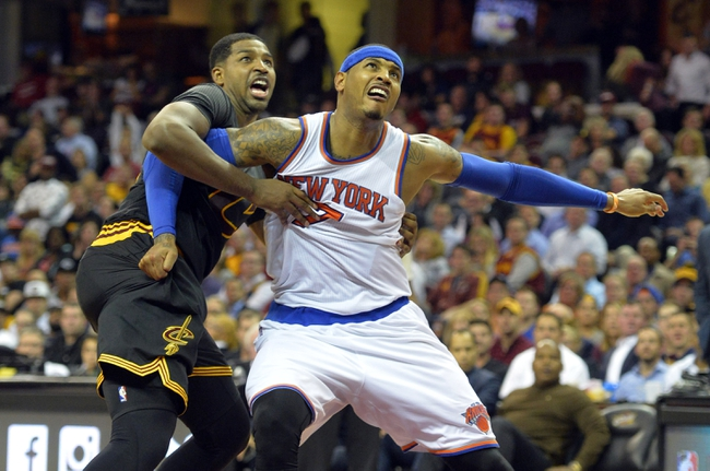 New York Knicks vs. Cleveland Cavaliers - 11/13/15 NBA Pick, Odds, and Prediction