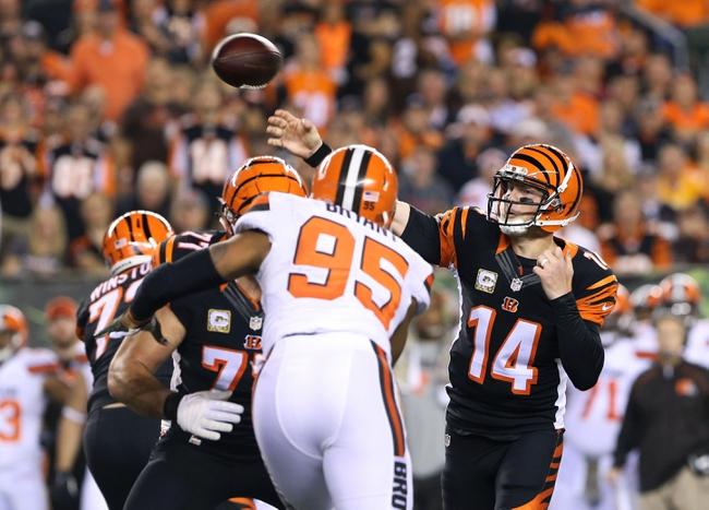 Cleveland Browns at Cincinnati Bengals 11/5/15 NFL Score, Recap, News and Notes