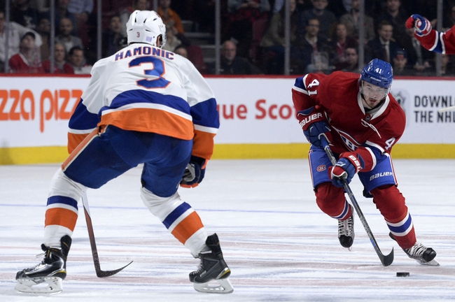 New York Islanders vs. Montreal Canadiens - 11/20/15 NHL Pick, Odds, and Prediction