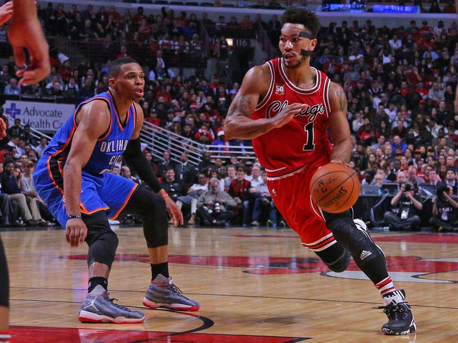 Bulls at Thunder - 12/25/15 NBA Pick, Odds, and Prediction