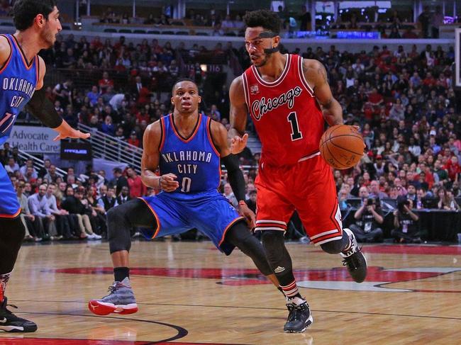 Oklahoma City Thunder vs. Chicago Bulls - 12/25/15 NBA Pick, Odds, and Prediction