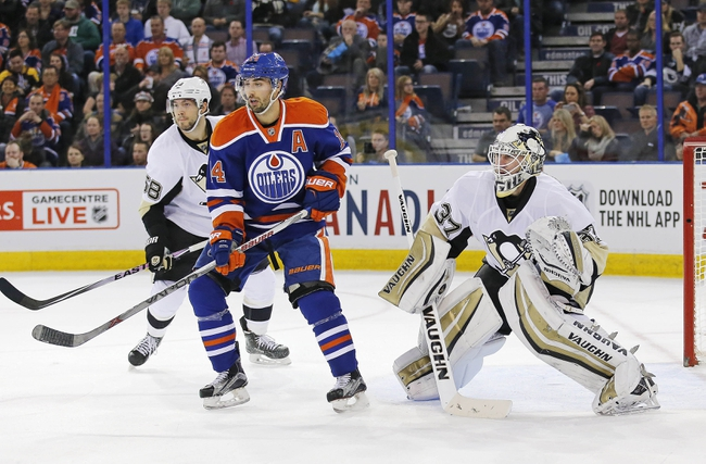 Pittsburgh Penguins vs. Edmonton Oilers - 11/28/15 NHL Pick, Odds, and Prediction