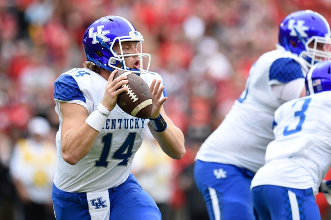 Kentucky Wildcats vs. Charlotte 49ers - 11/21/15 College Football Pick, Odds, and Prediction