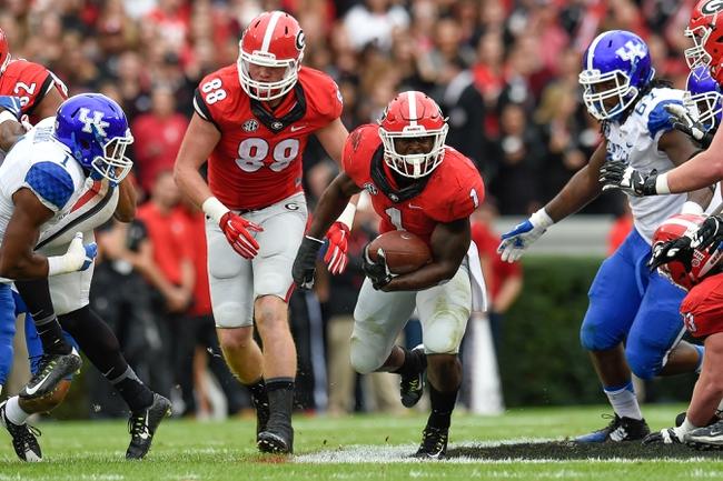 Georgia Bulldogs vs. Georgia Southern Eagles - 11/21/15 College Football Pick, Odds, and Prediction