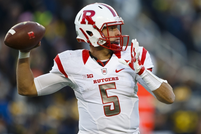 Rutgers vs. Nebraska - 11/14/15 College Football Pick, Odds, and Prediction