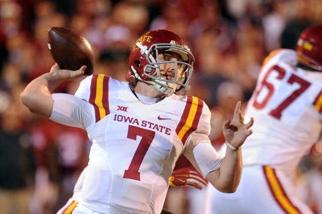 Iowa State vs. Oklahoma State - 11/14/15 College Football Pick, Odds, and Prediction