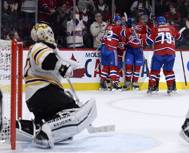 Montreal Canadiens vs. Boston Bruins - 12/9/15 NHL Pick, Odds, and Prediction