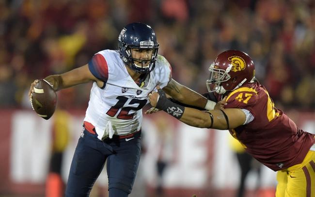 Arizona Wildcats vs. Utah Utes - 11/14/15 College Football Pick, Odds, and Prediction