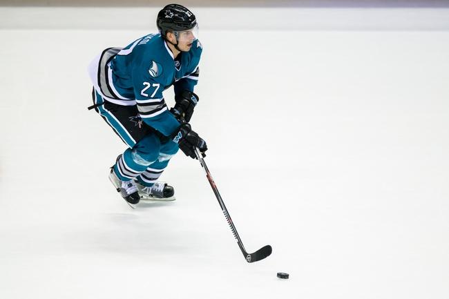 Columbus Blue Jackets vs. San Jose Sharks - 10/15/16 NHL Pick, Odds, and Prediction