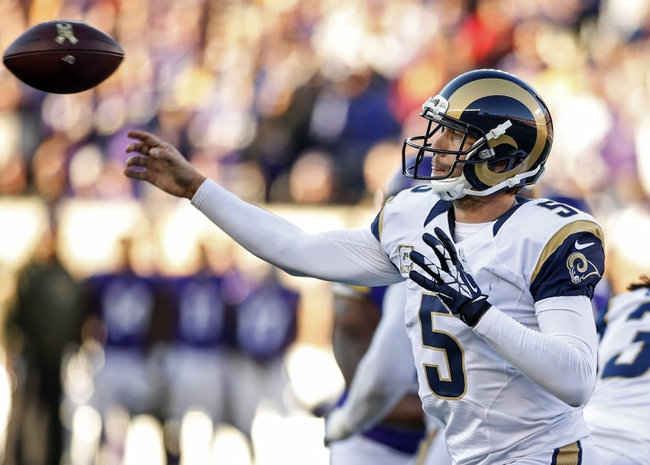 Rams vs. Bears - 11/15/15 NFL Pick, Odds, and Prediction
