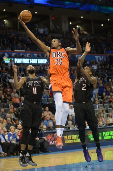 Oklahoma City Thunder vs. Phoenix Suns - 12/31/15 NBA Pick, Odds, and Prediction
