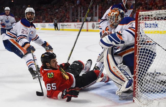 Edmonton Oilers vs. Chicago Blackhawks - 11/18/15 NHL Pick, Odds, and Prediction