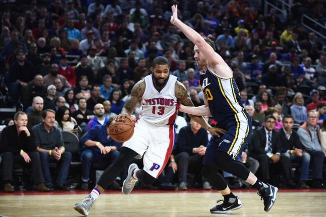 Pistons at Jazz - 1/25/16 NBA Pick, Odds, and Prediction