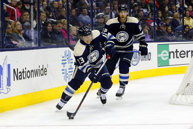 Vancouver Canucks vs. Columbus Blue Jackets - 2/4/16 NHL Pick, Odds, and Prediction