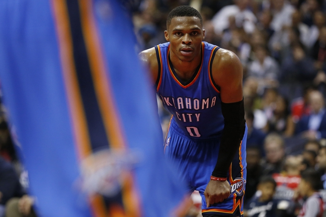 Oklahoma City Thunder vs. Washington Wizards - 2/1/16 NBA Pick, Odds, and Prediction