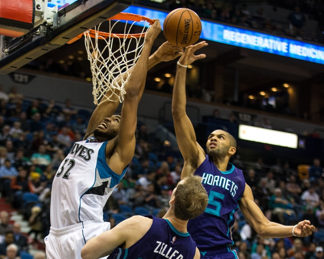 Hornets vs. Timberwolves - 3/7/16 NBA Pick, Odds, and Prediction