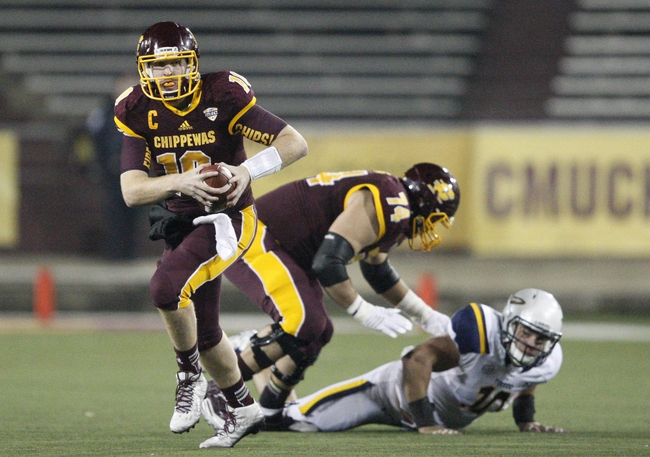 Central Michigan Chippewas vs. Eastern Michigan Eagles - 11/27/15 College Football Pick, Odds, and Prediction