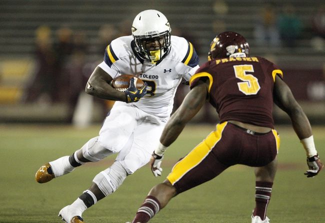 Toledo Rockets vs. Central Michigan Chippewas - 10/22/16 College Football Pick, Odds, and Prediction