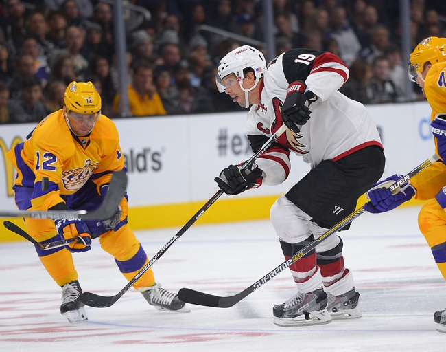 Arizona Coyotes vs. Los Angeles Kings - 12/26/15 NHL Pick, Odds, and Prediction