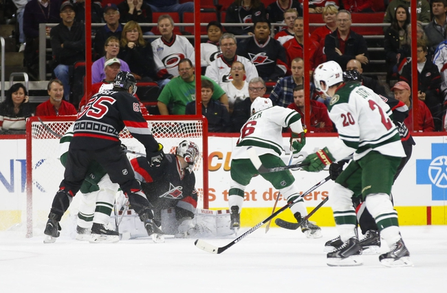 Wild vs. Hurricanes - 3/19/16 NHL Pick, Odds, and Prediction