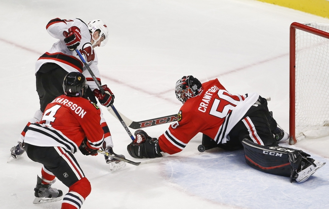 New Jersey Devils vs. Chicago Blackhawks - 10/28/16 NHL Pick, Odds, and Prediction