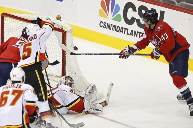 Calgary Flames vs. Washington Capitals - 10/30/16 NHL Pick, Odds, and Prediction