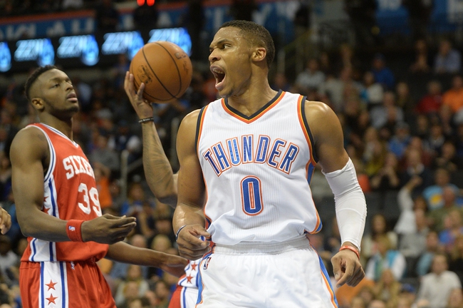 Philadelphia 76ers vs. Oklahoma City Thunder - 3/18/16 NBA Pick, Odds, and Prediction