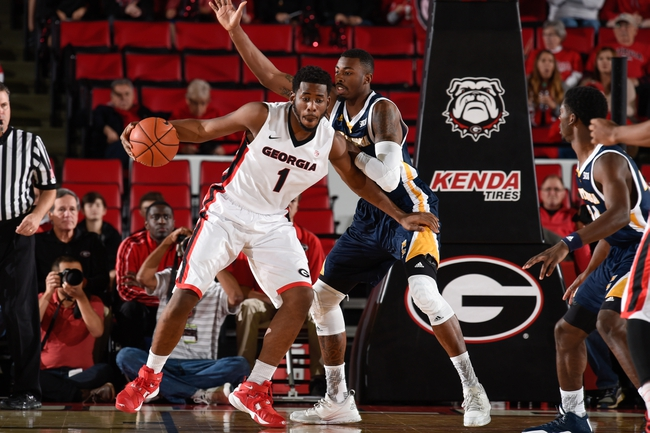 Georgia Bulldogs  vs. Murray State Racers - 11/20/15 College Basketball Pick, Odds, and Prediction