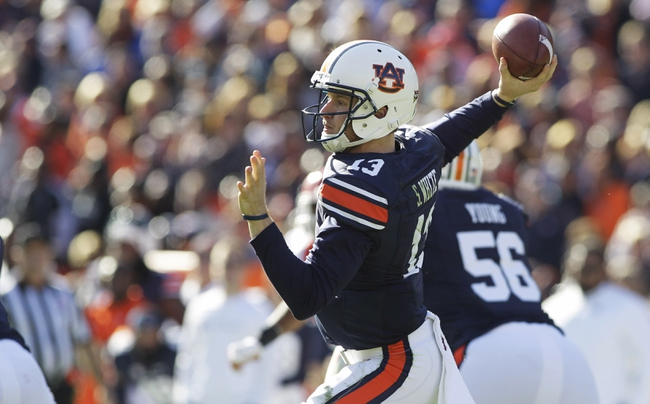 Alabama at Auburn - 11/28/15 College Football Pick, Odds, and Prediction