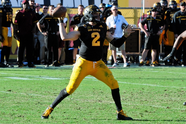 Arizona State Sun Devils vs. Arizona Wildcats - 11/21/15 College Football Pick, Odds, and Prediction
