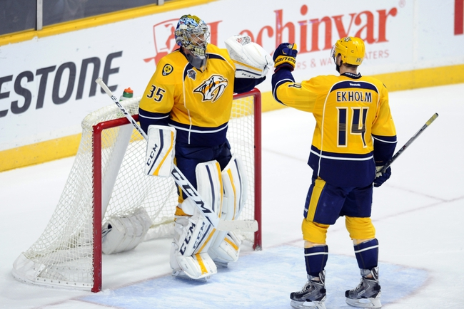 Nashville Predators vs. Winnipeg Jets - 1/5/16 NHL Pick, Odds, and Prediction