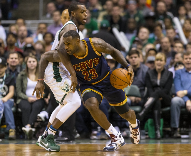 Bucks at Cavaliers - 11/19/15 NBA Pick, Odds, and Prediction