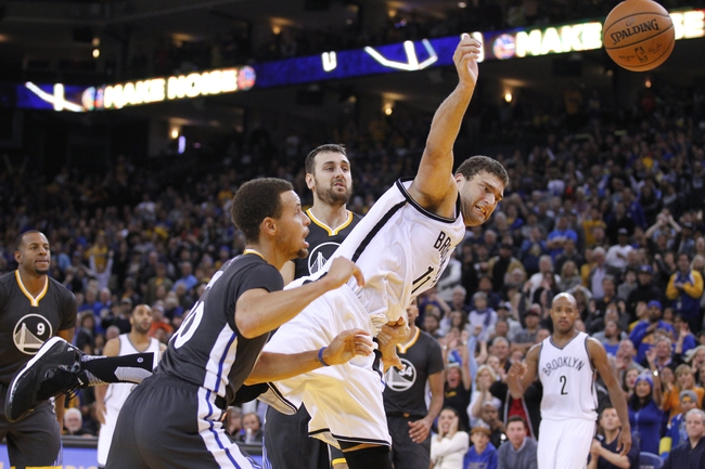 Brooklyn Nets vs. Golden State Warriors - 12/6/15 NBA Pick, Odds, and Prediction