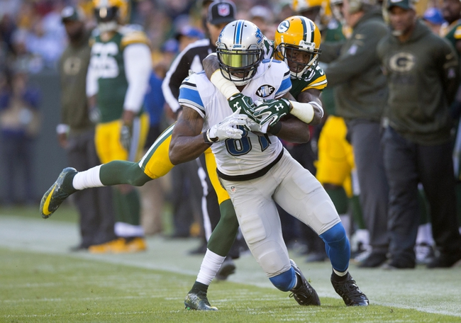 Detroit Lions at Green Bay Packers 11/15/15 NFL Score, Recap, News and Notes