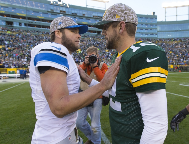 Lions vs. Packers - 12/3/15 NFL Pick, Odds, and Prediction