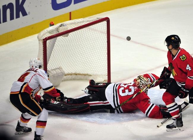 Calgary Flames vs. Chicago Blackhawks - 11/20/15 NHL Pick, Odds, and Prediction