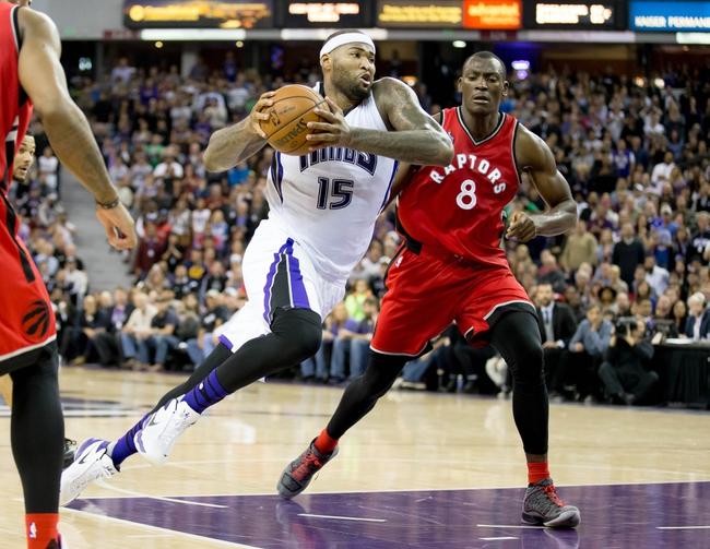 Toronto Raptors vs. Sacramento Kings - 12/20/15 NBA Pick, Odds, and Prediction