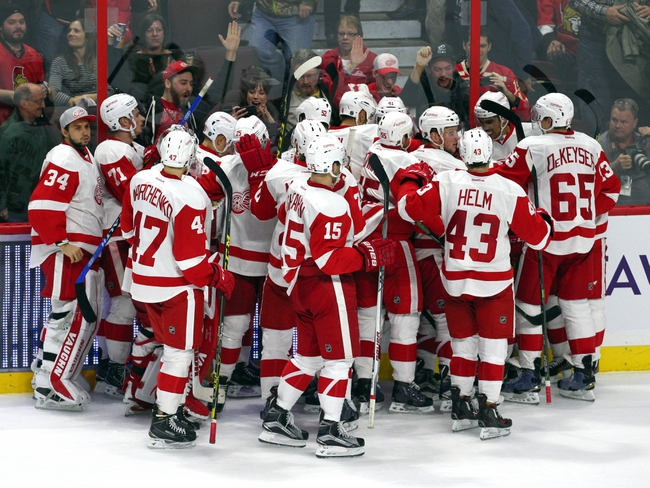 Detroit Red Wings vs. Ottawa Senators - 2/10/16 NHL Pick, Odds, and Prediction