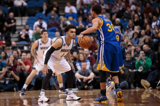 Minnesota Timberwolves vs. Golden State Warriors - 3/21/16 NBA Pick, Odds, and Prediction