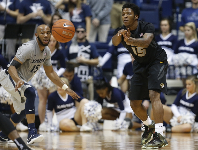 Missouri Tigers vs. Xavier Musketeers - 11/17/16 College Basketball Pick, Odds, and Prediction