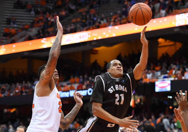 George Mason vs. St. Bonaventure - 1/6/16 College Basketball Pick, Odds, and Prediction