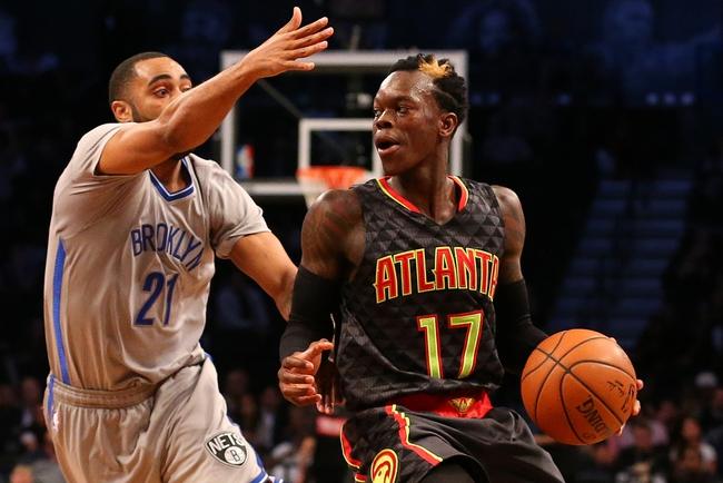 Atlanta Hawks vs. Brooklyn Nets - 1/16/16 NBA Pick, Odds, and Prediction